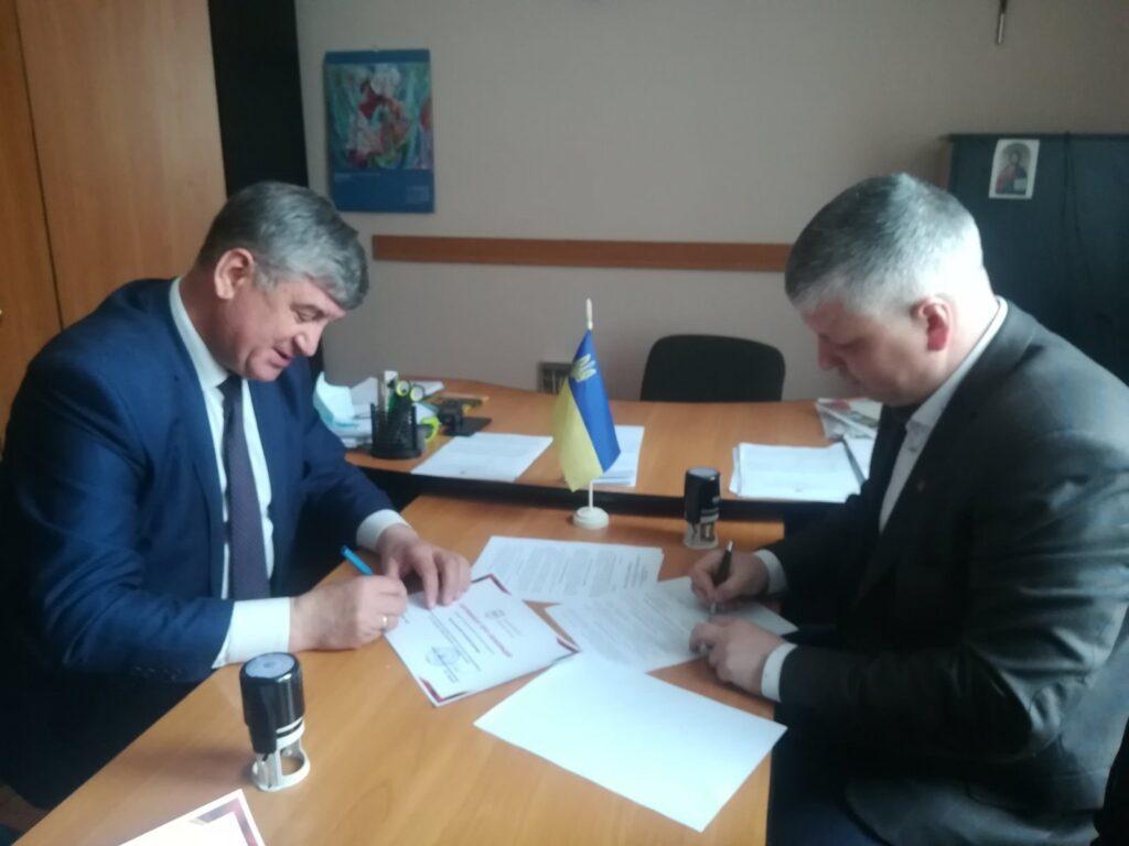 Солотвинська селищна рада налагоджує співпрацю з вищими учбовими закладами області